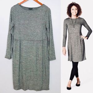 J.Jill Wearever Collection Knit Dress Sz M Petite